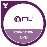 ITIL Foundation certificate in IT Service Managemen
