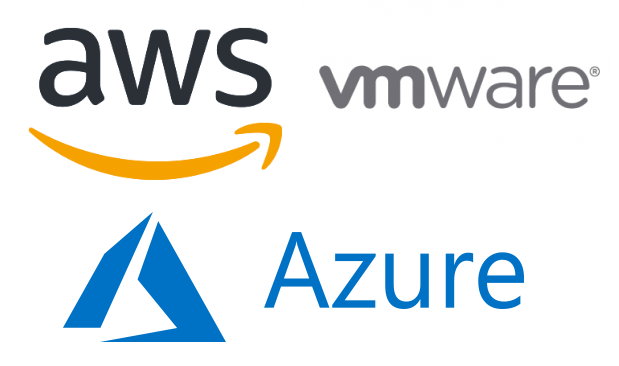 AWS Azure VMware compare naming